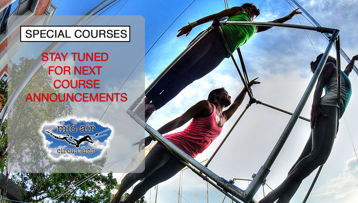 Special Courses in Aerial Arts and Circus Arts