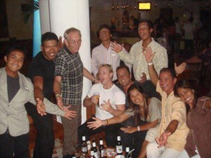 Bob Christians on a visit to Club Med Phuket 'back in the day'